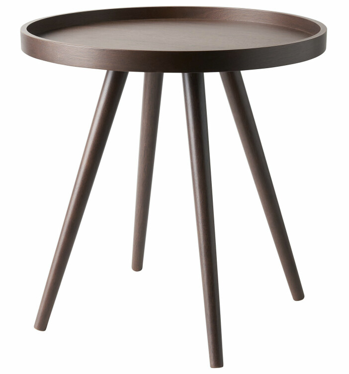 Mörkbruna träbordet Elmer finns hos Åhléns