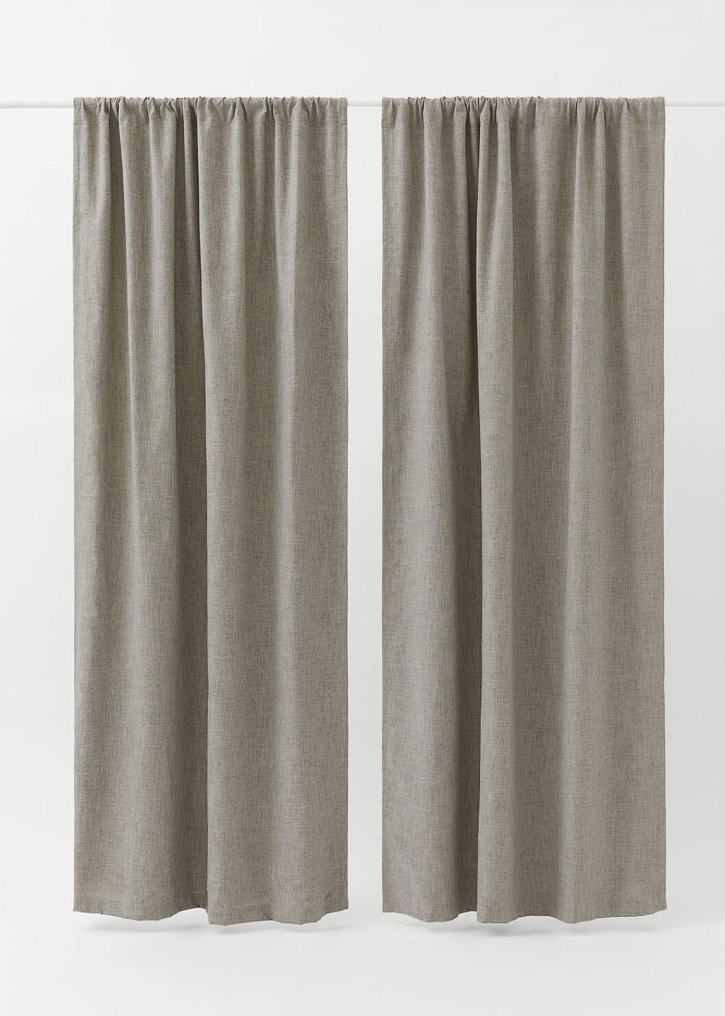 mörkläggande gardiner från H&M Home
