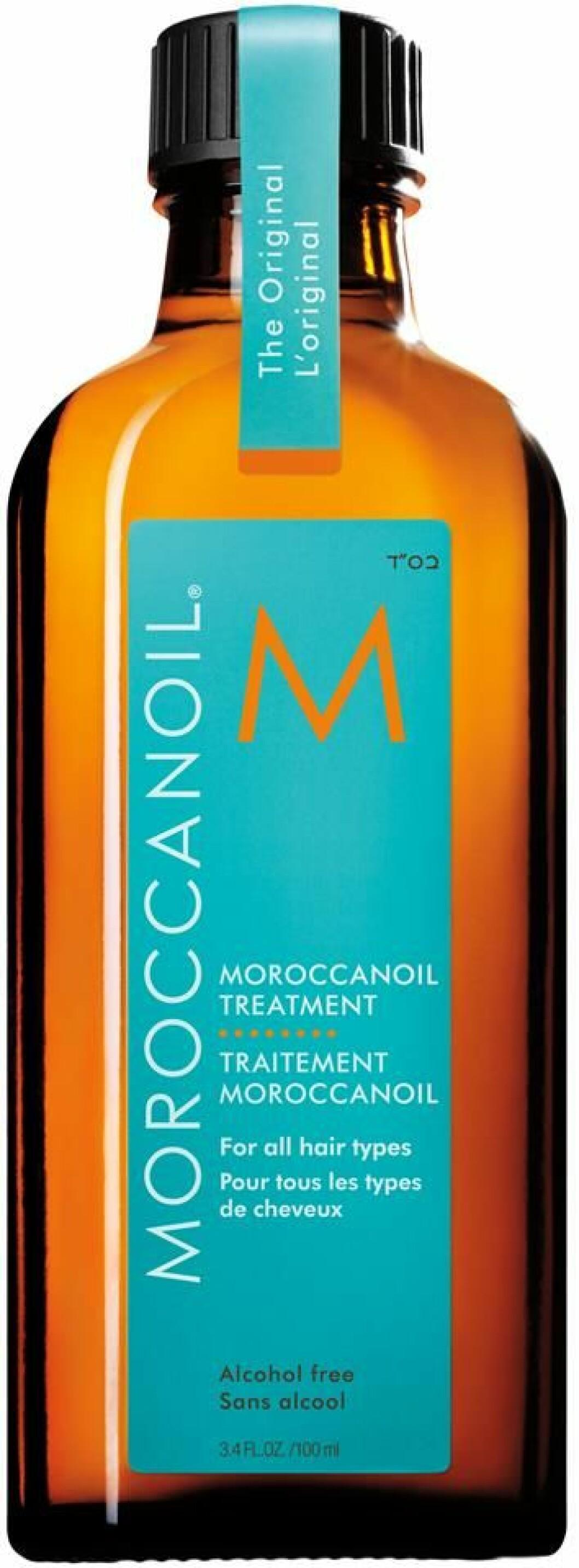 Moroccan oil, Original treatment.