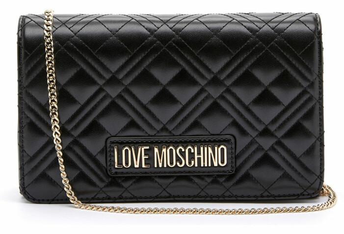 quiltad väska från moschino