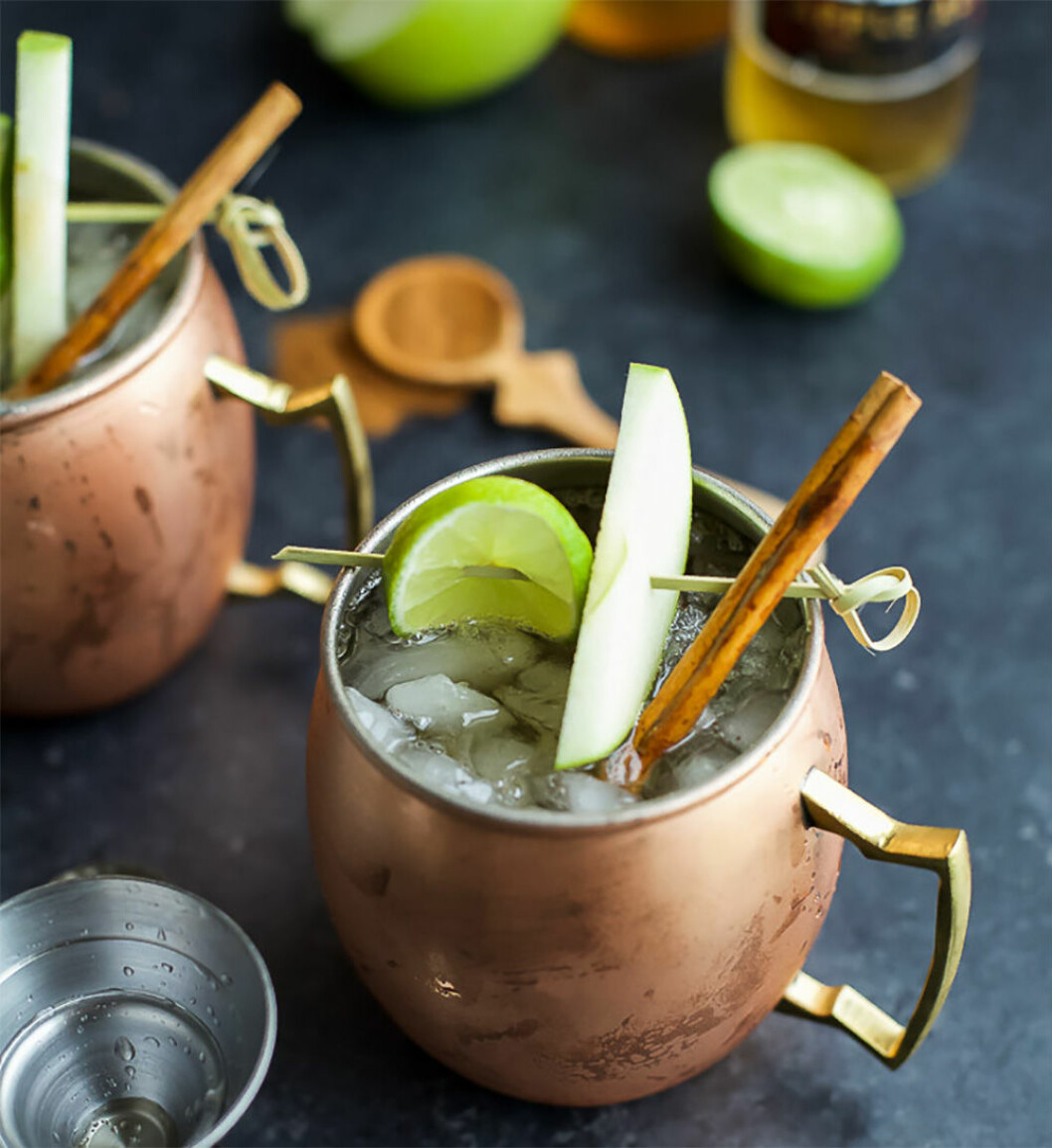 Moscow Mule med äppelcider