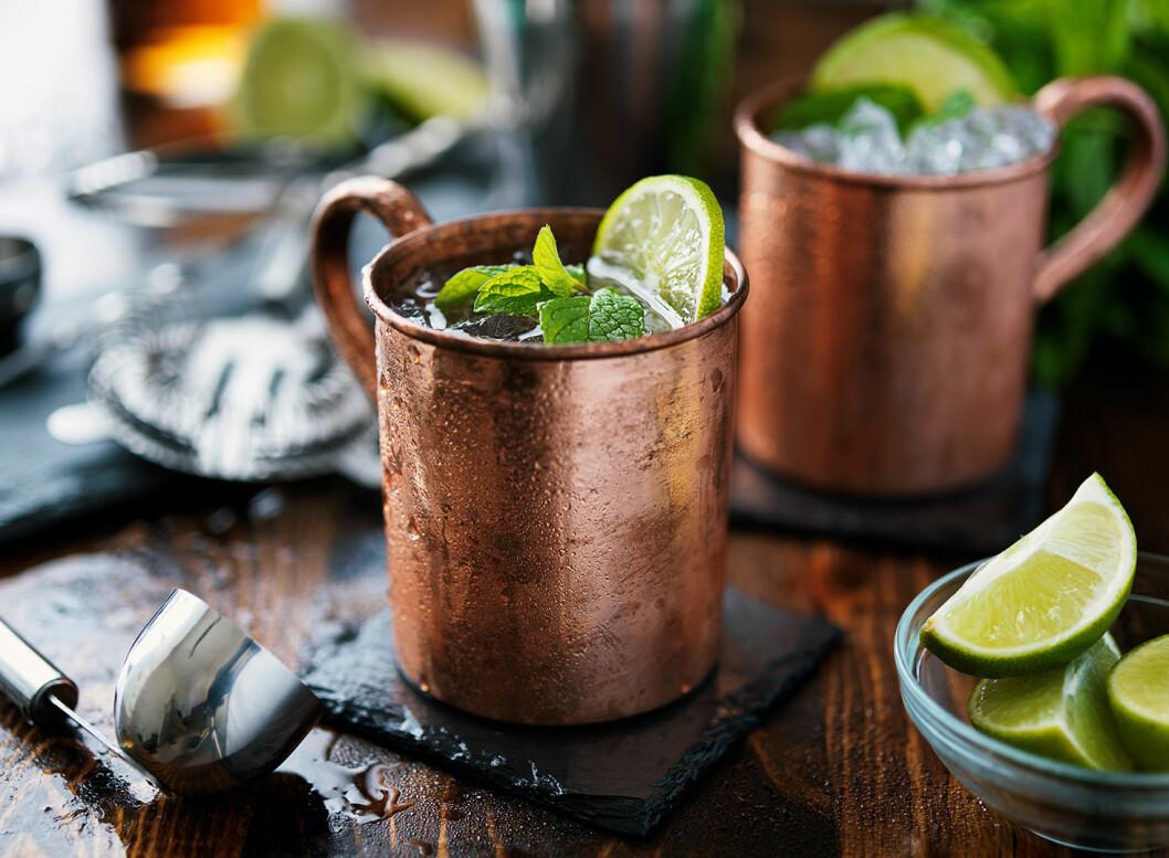 Moscow mule, stjärntecken drink, stenbocken