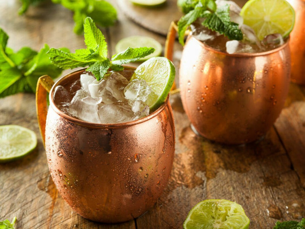 moscow mule recept