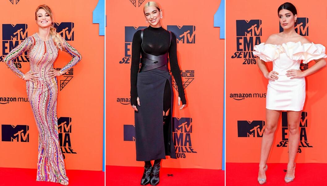 Röda mattan på MTV EMA 2019 – se alla bilder här!