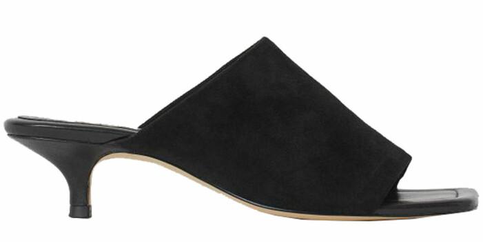 svarta mules från H&M