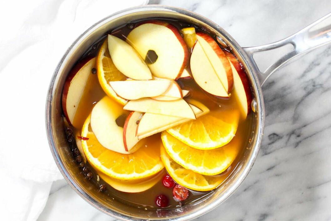 Hot Spiced-äppelcider (varm)