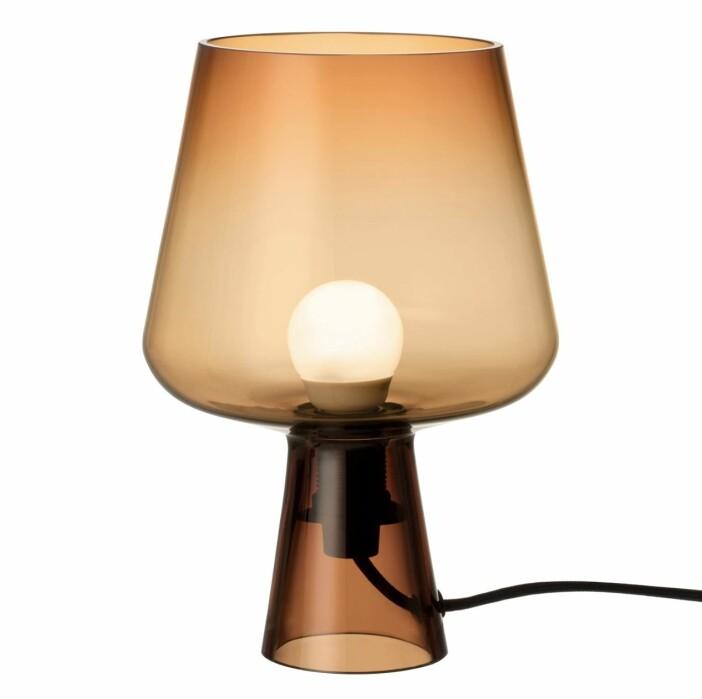 Munblåsta lampan Leimu med design av norska formgivaren Magnus Pettersen.