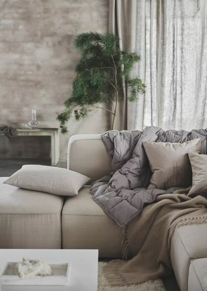 Mysiga textilier hos Jotex julen 2020