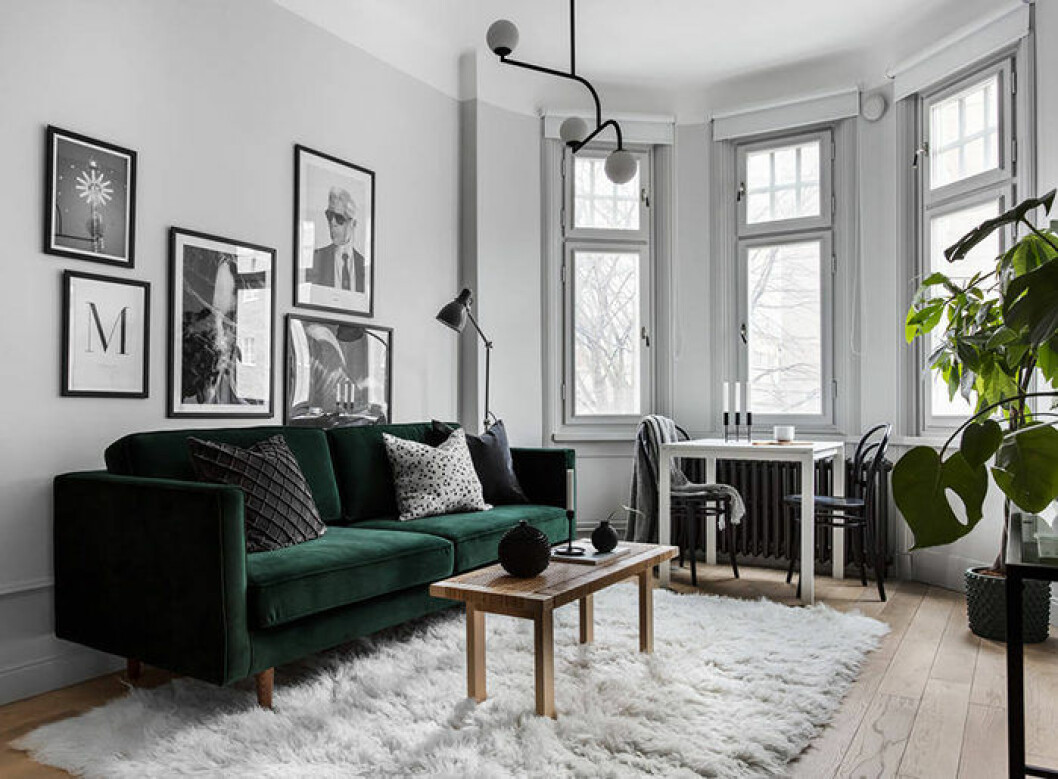 Inred vardagsrummet med stil och stämning