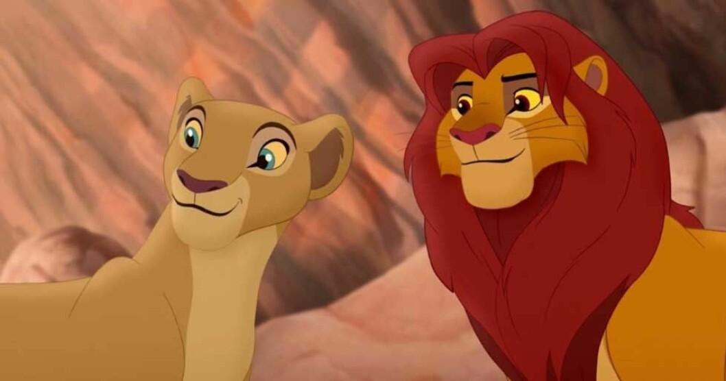 Nala och Simba - Lejonkungen