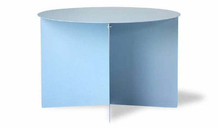 blått soffbord