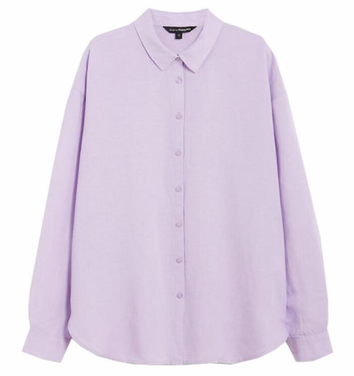 lila skjorta