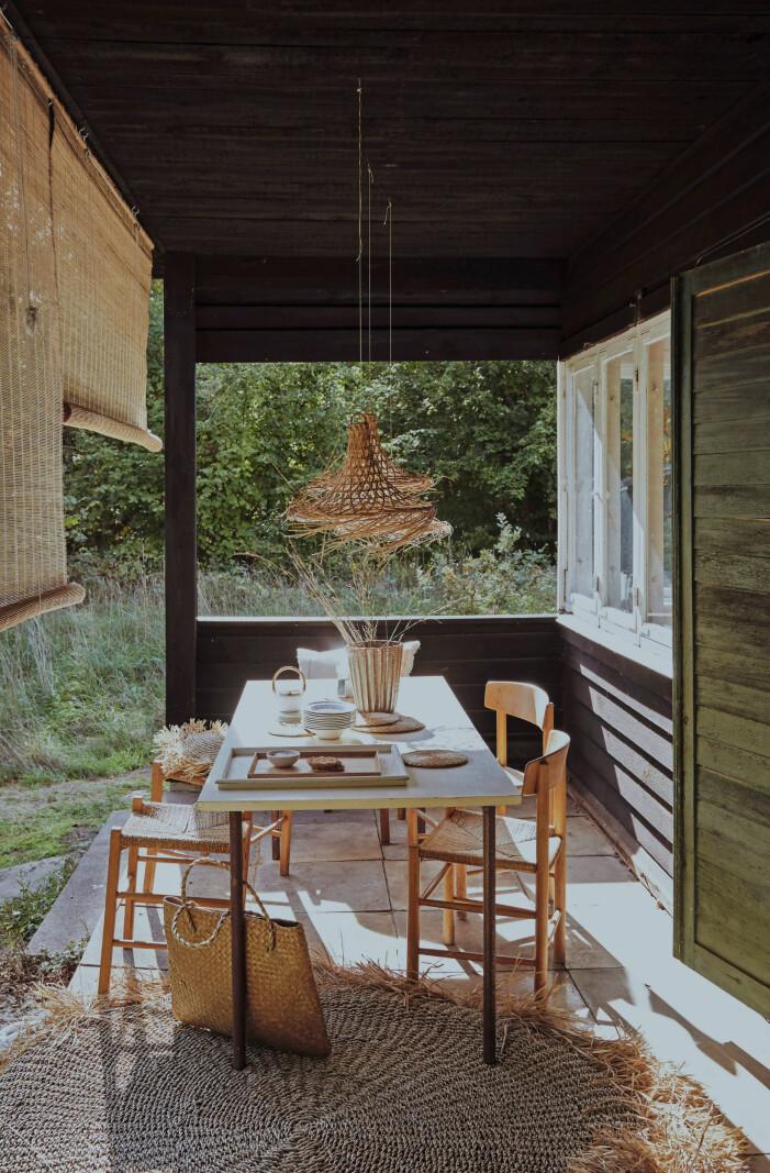Inspireras av Nannas sommarhus i trä