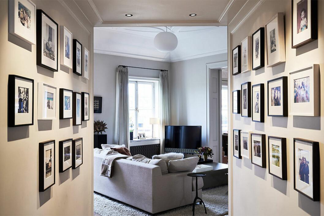 Inredning och tavlor hemma hos Nathalie Schuterman