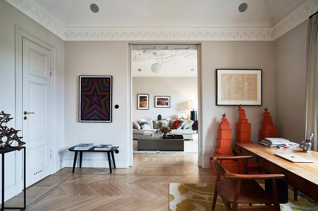 Nathalie Schuterman säljer sin våning - arbetsrum