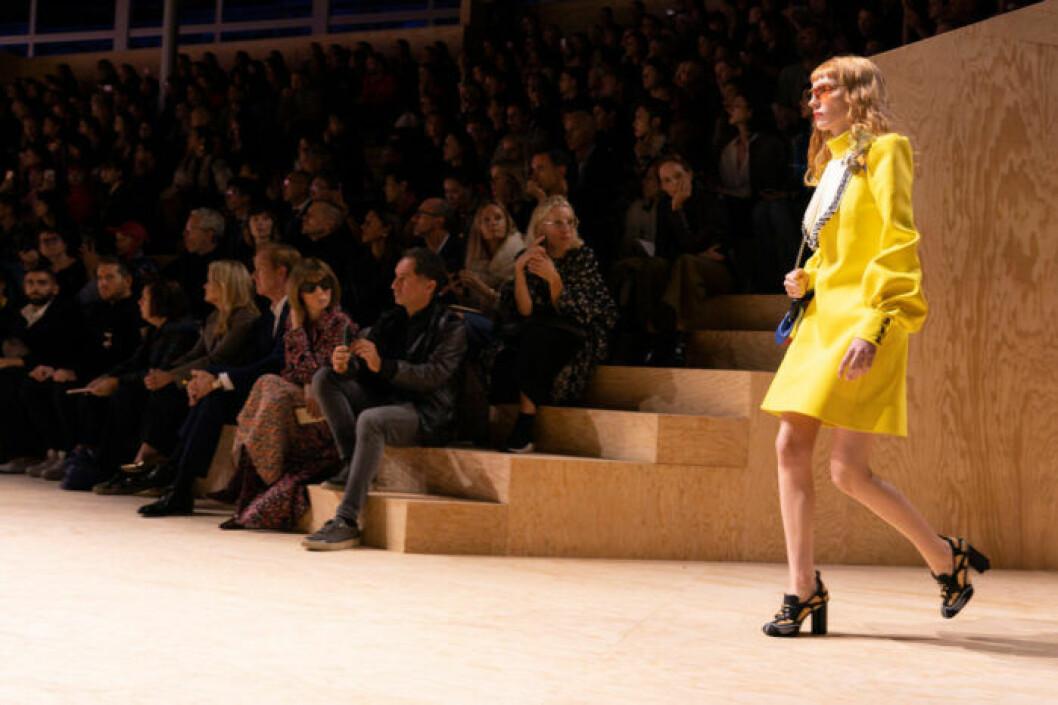 Visningsbild från Louis Vuitton SS20-visningen