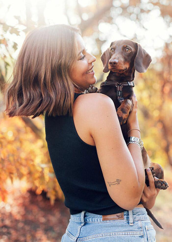 Nicole Falcianis hund tax