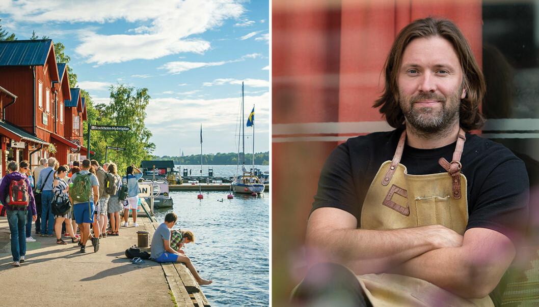Niklas Ekstedt startar matfestivalen Foodstock på Fjäderholmarna