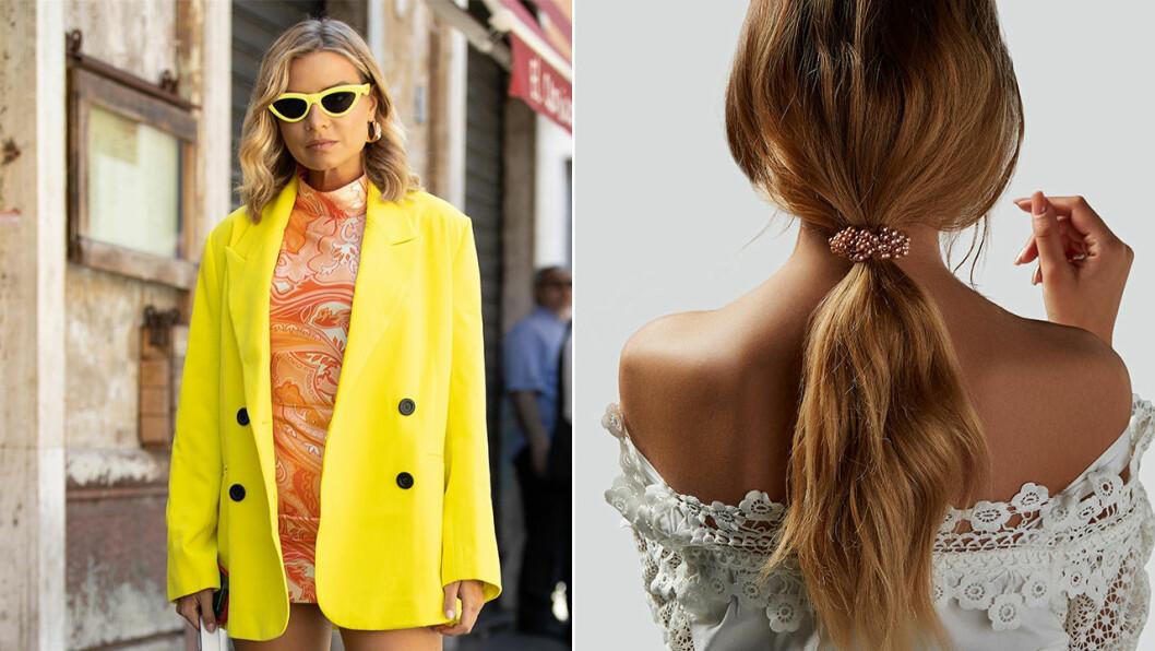 nittitalsinspirerad outfit och scrunchie