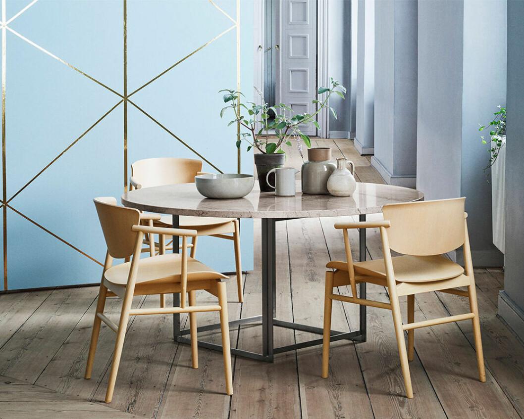 N01 från Fritz Hansen - bra vid matbordet