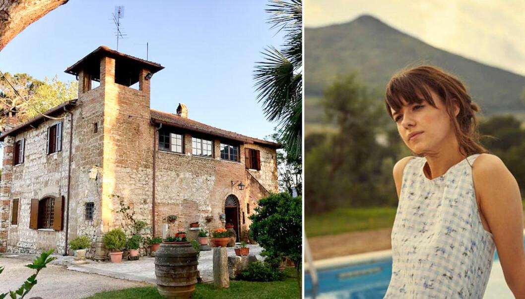 Italienska villan och Marianne