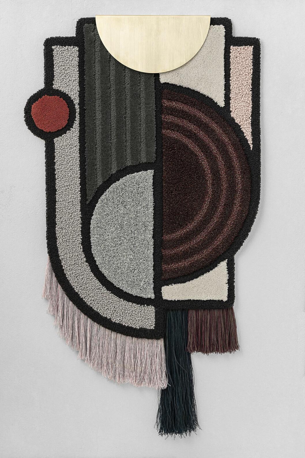 Väggbonad av Lara Bohinc för Kastall