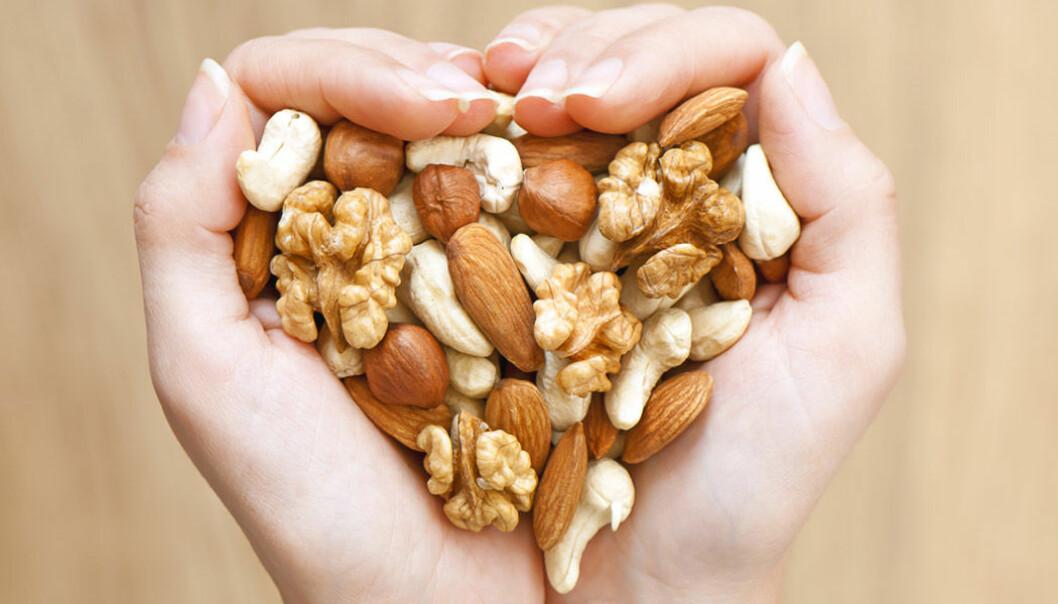 Nötter är nyttigt!