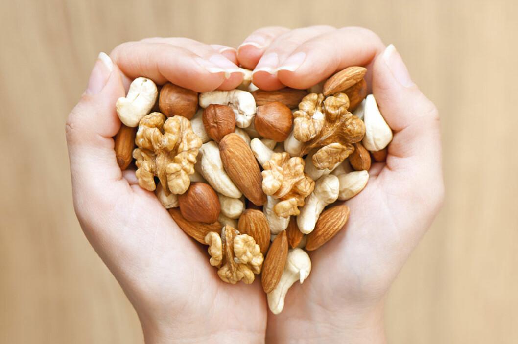 Nötter är nyttigt! Foto: Shutterstock