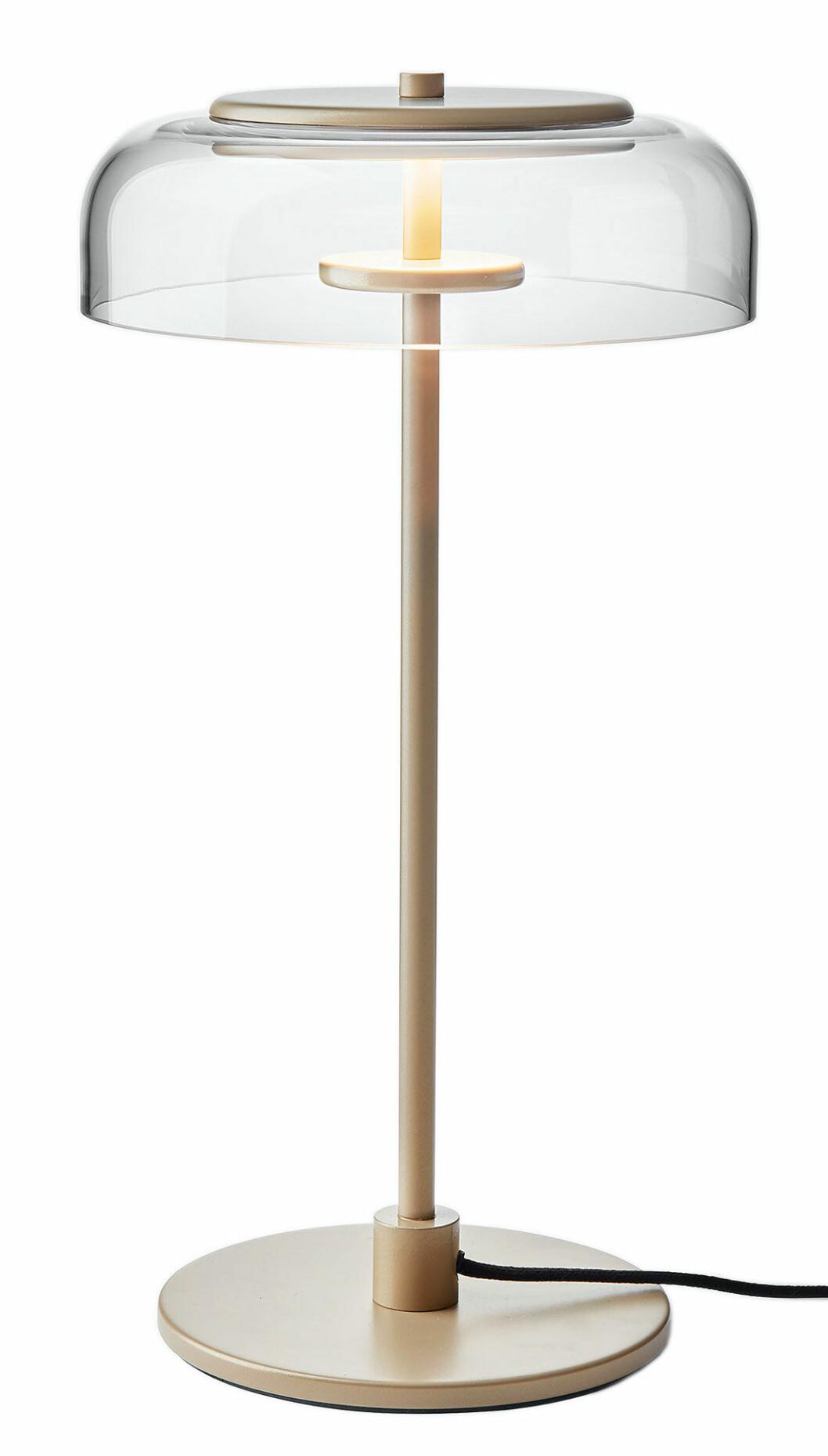 En stilfull bordslampa från Nuura
