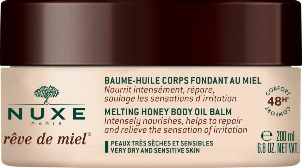 nuxe melting honey body oil balm gravid
