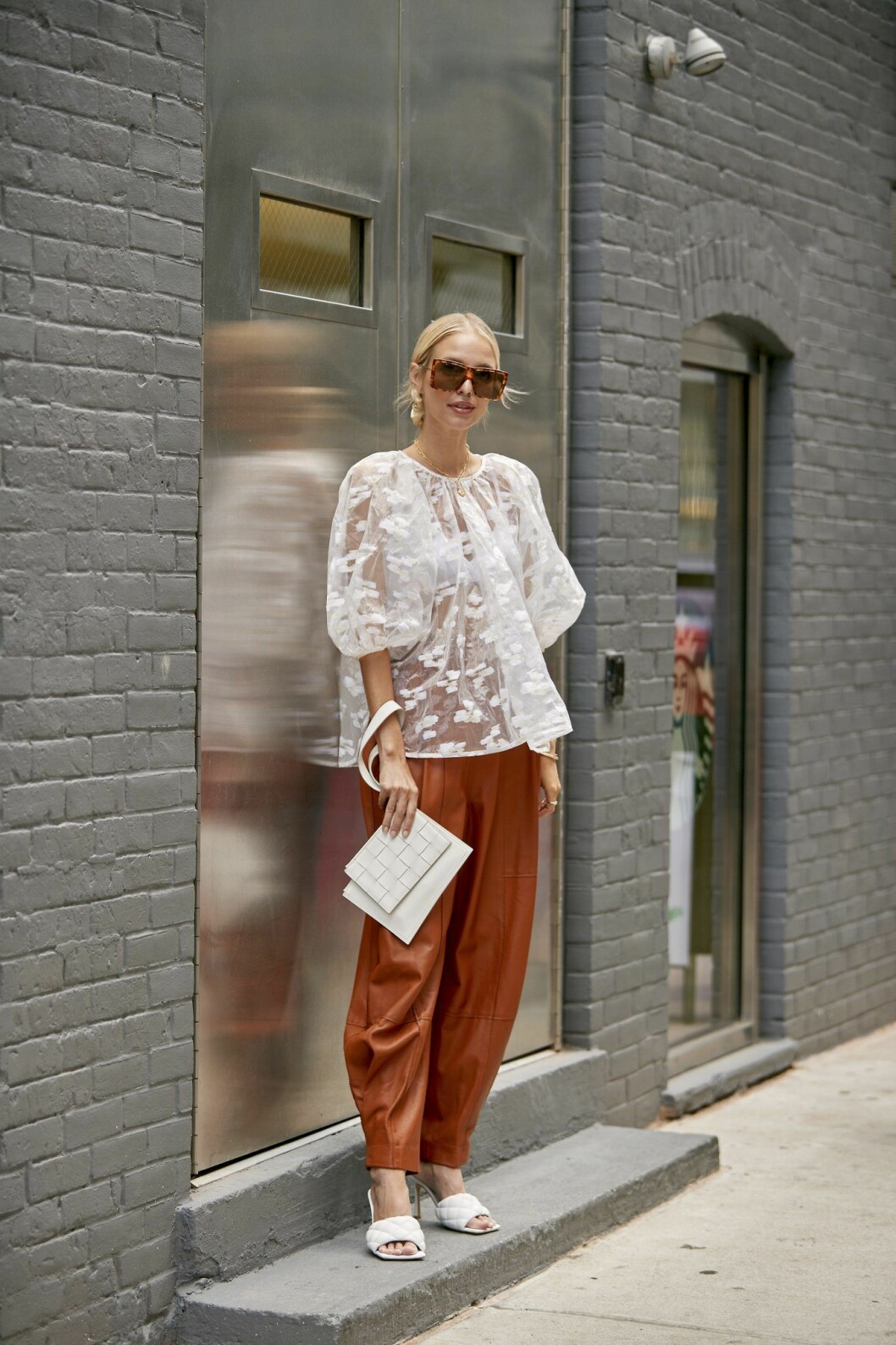 streetstyle från New York fashion week.