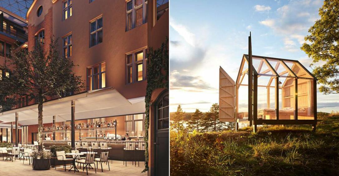 Villa Dagmar och glashus i Dalsland