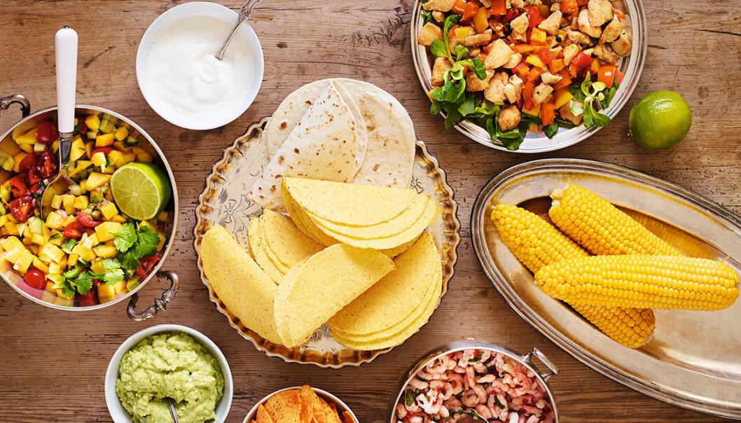 Bjud på nya tacosmaker till fredagsmyset.