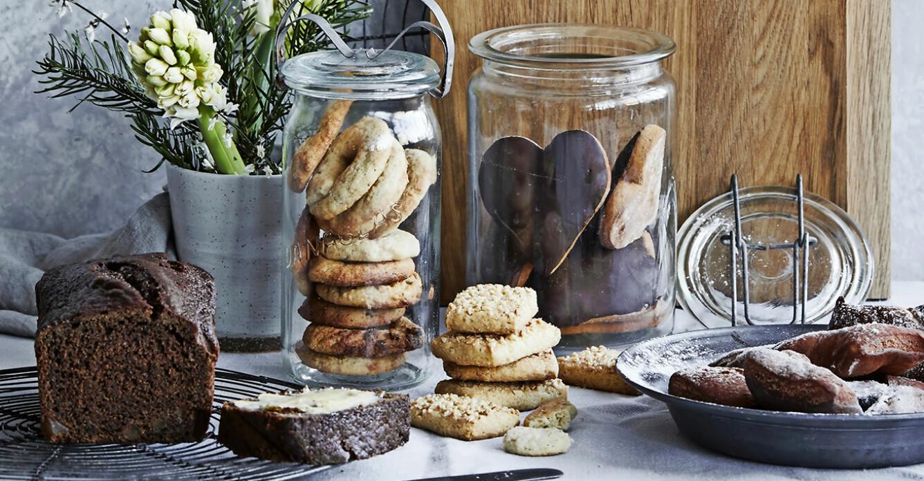 5 recept att baka till advent