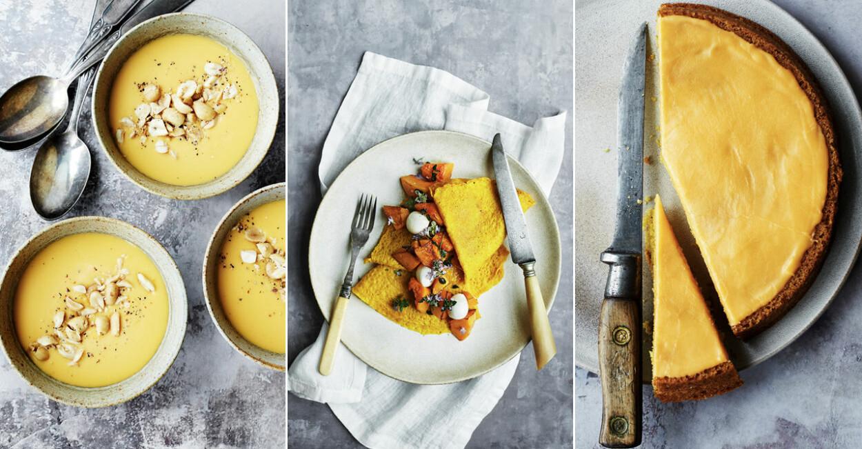Nyfiken gul - 3 vegetariska recept