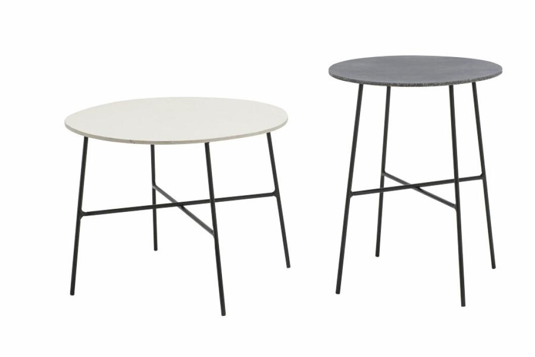 Bord skapade av kalksten