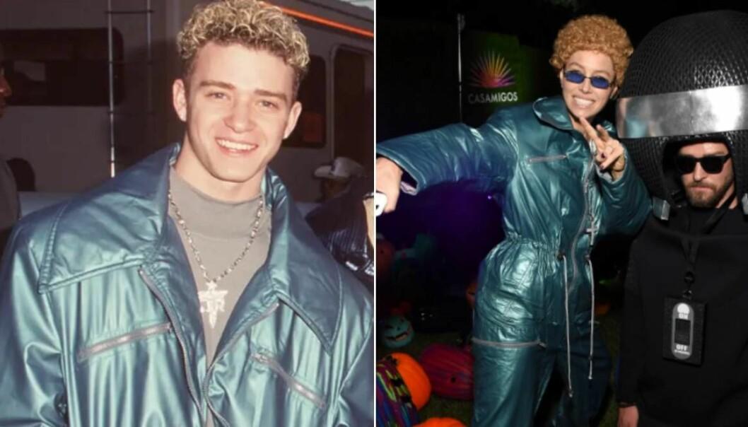 Jessica Biel som maken Justin Timberlake