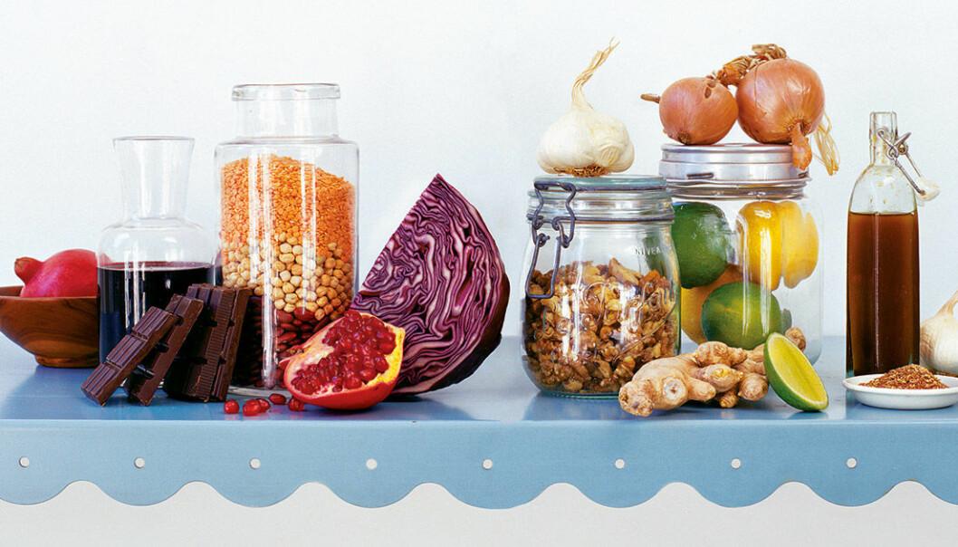 10 exempel på god och nyttig mat.