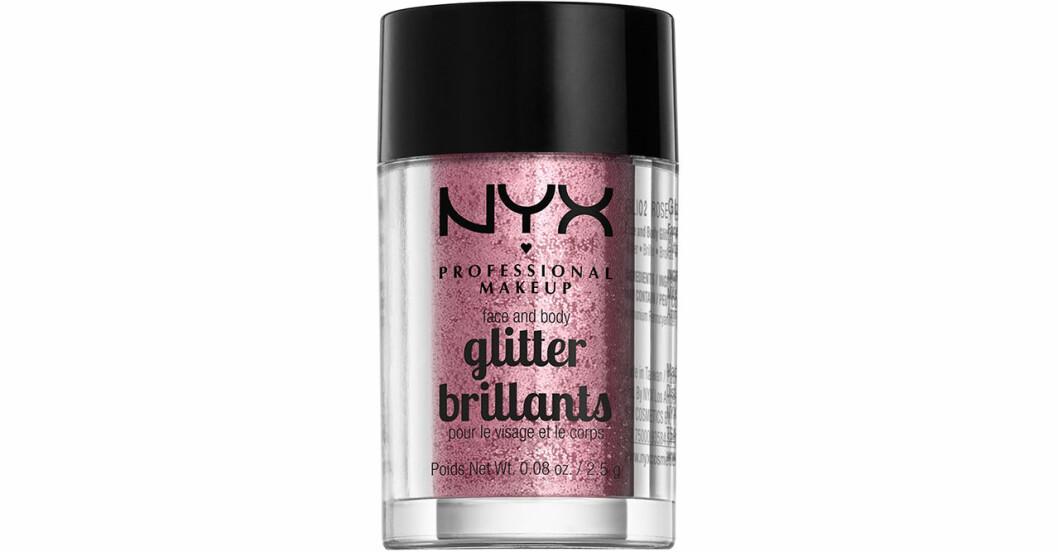 Glitter ögonskugga i glittrig nyans från NYX