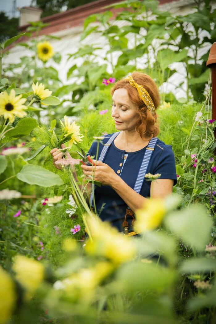 Odla på liten yta - experternas tips Elle Decoration Linda Schilén trädgårdsmästare
