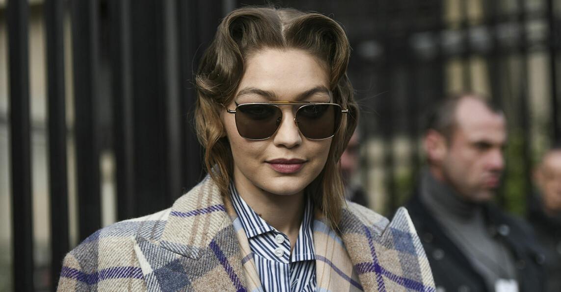 Gigi Hadid i solglasögon