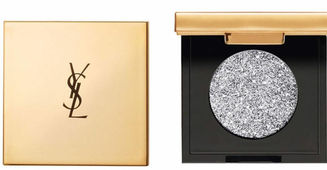 Ögonskugga med silvrigt glitter från YSL