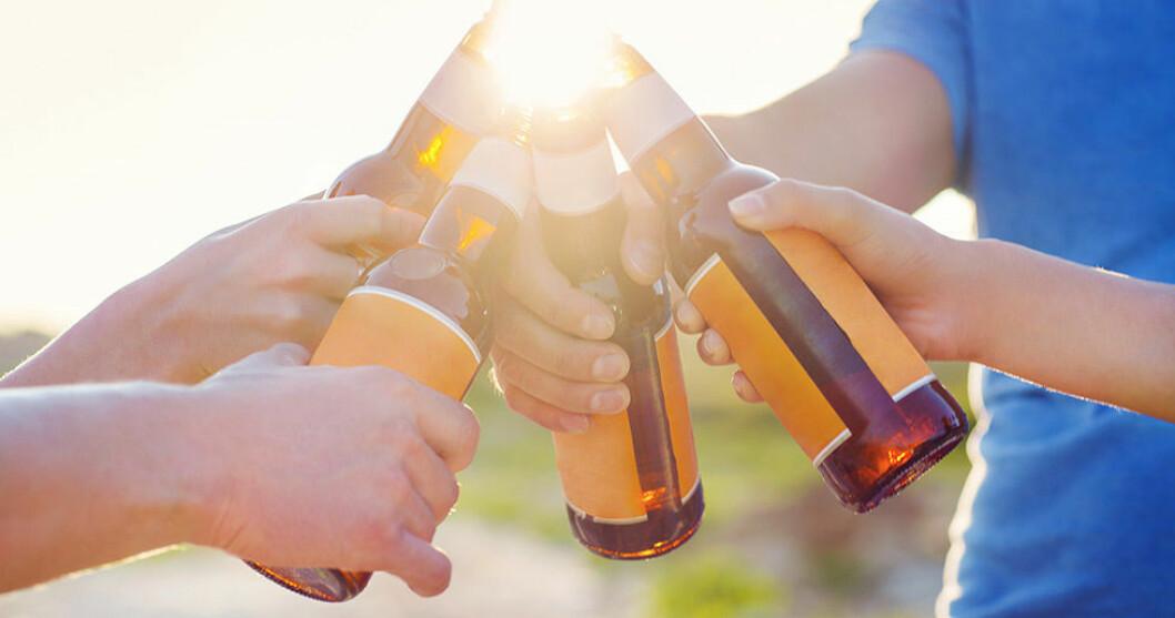 Ta en öl, för hälsans skull! Foto: IBL