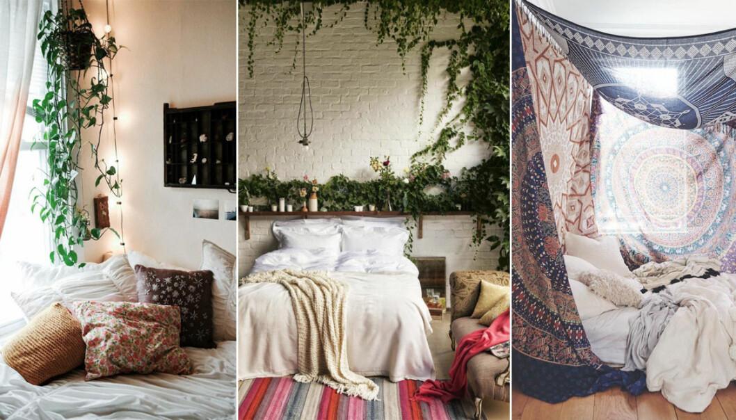 olika bohemiska sovrum