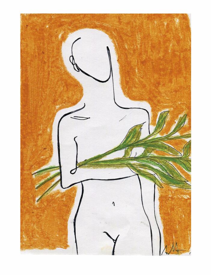 Olive av Anna Mörner för Wall of Art
