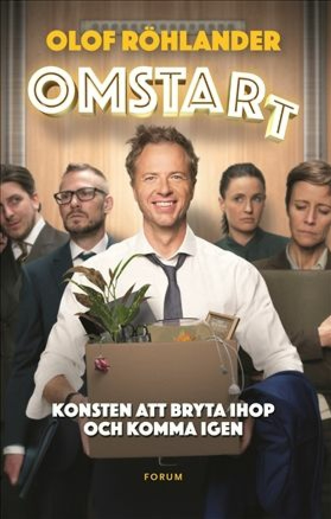 Boken Omstart av Olof Röhlander