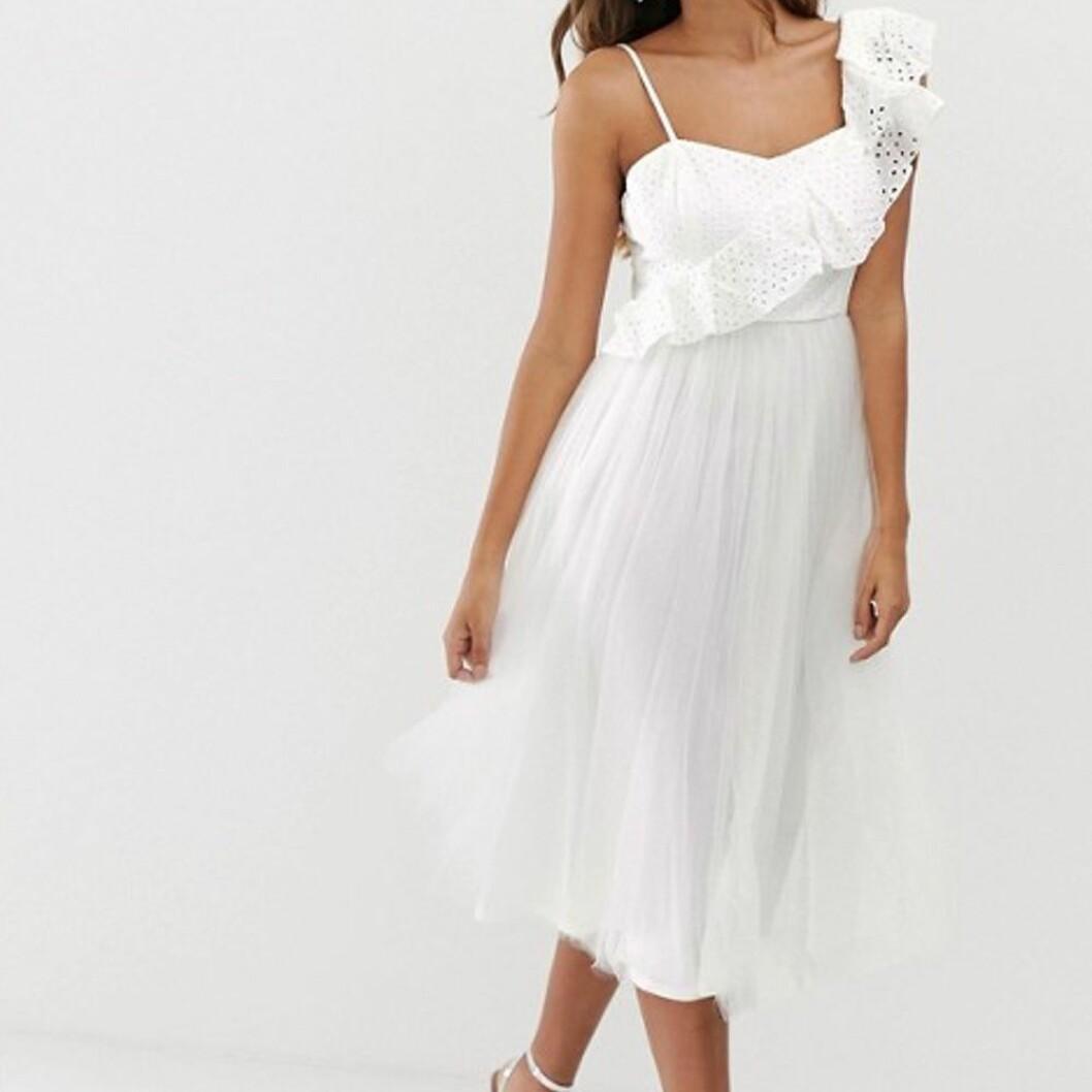 One shoulder-klänning