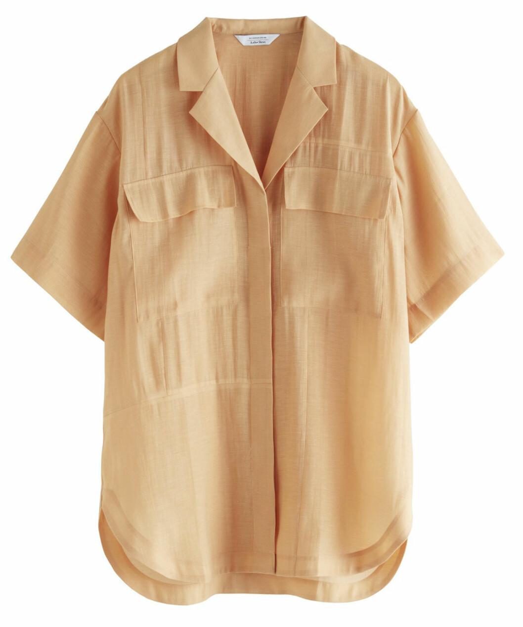 Kortärmad skjorta i avslappnad modell från & Other stories.