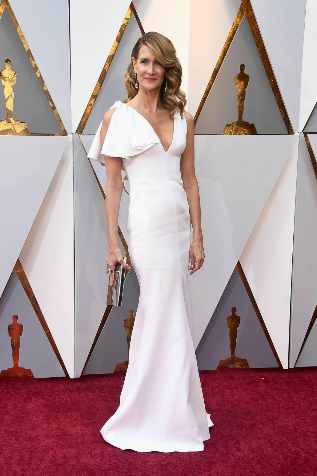 Laura Dern på Oscarsgalan 2018