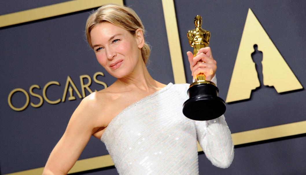 Skådespelare hållare i en Oscars